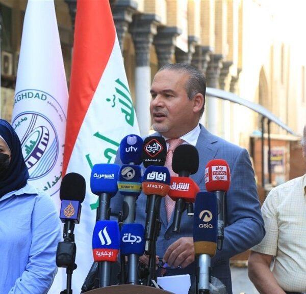 أمين بغداد يعلن عن حزمة مشاريع لإعمار العاصمة www.alttejarat.com موقع التجارة ويب