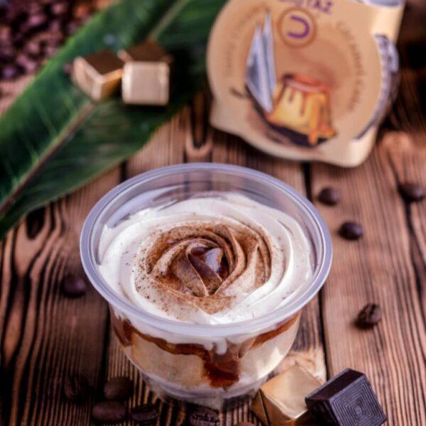 بودنج كيكة الكراميل – بالنسكافية أو بالقهوة - بودنج ديوتاز - موقع التجارة ويب www.alttejarat.com